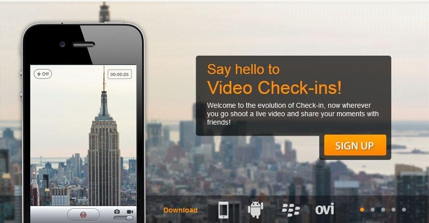 Med Clingle kan du vise hvor du er med en video, og se andres videoer fra stedet der du er.