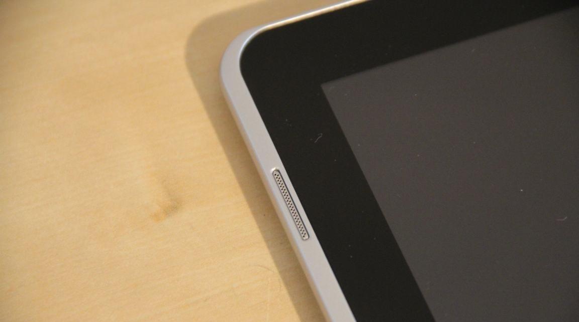 Høyttaleren er flyttet på N-versjonen av Galaxy Tab 10.1.