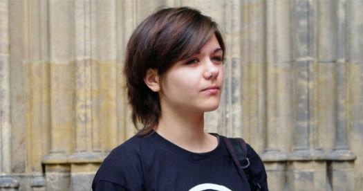 Piratpartiets Amelia Andersdotter blir yngst i EU-parlamentet.