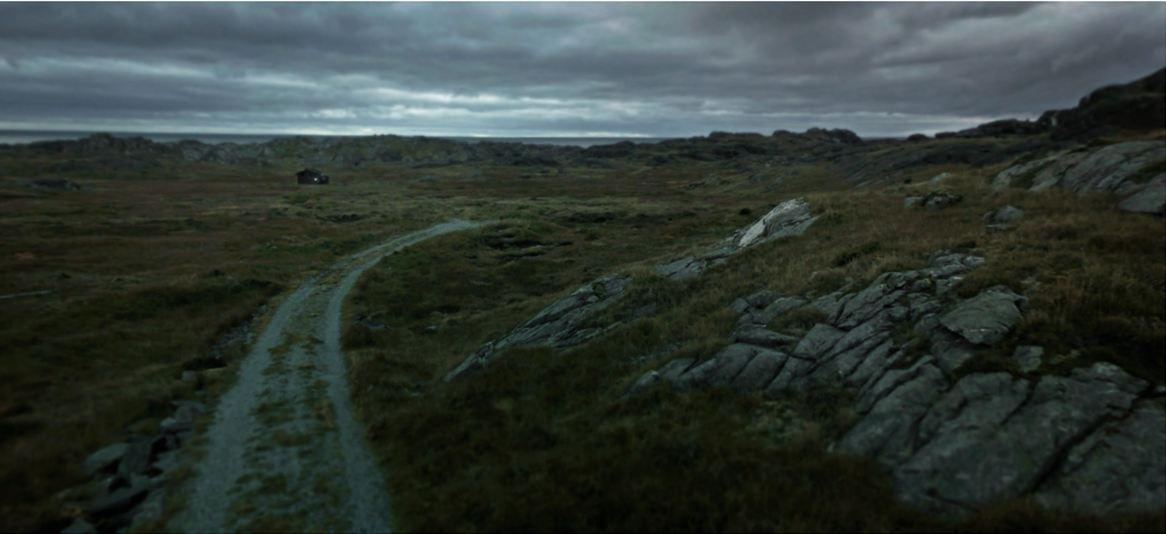 Dette er Utsira ved Karmøy i Rogaland sett gjennom Googles kamera.