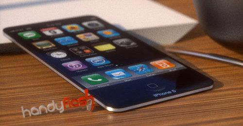 Et lekkert og syltynt iPhone 5-konsept.
