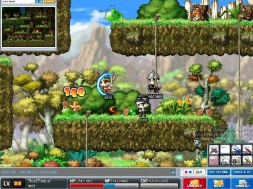 Maple Story er ett av verdens mest populære MMORPG-spill.