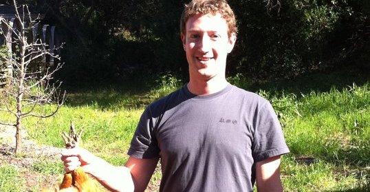 Et av Zuckerbergs private, men helt uskyldige, bilder.