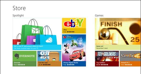 Windows Store i Windows 8.
