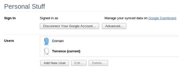 Logg på med flere Google-kontoer i Chrome for enkel synkronisering av dine data på flere maskiner.