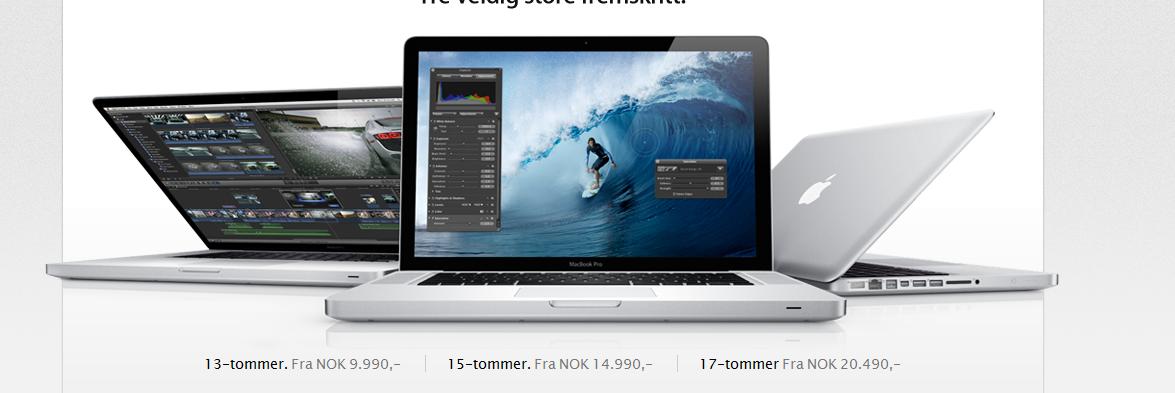 MacBook Pro får mye, mye bedre skjerm neste år, hevder kilder.