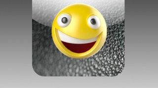 Det er ikke smilefjesene i seg selv, men måten de skrives inn på skjermen som Samsung reagerer på... (For ordens skyld: Smilefjeset på bildet har ingen ting med saken å gjøre)