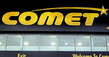 Comet er Storbritannias neste største elektrokjede. Nå hevder Microsoft at selskapet har trykket opp nesten 100 000 ulovlige kopier av Vista og XP-gjennopprettingsplater.