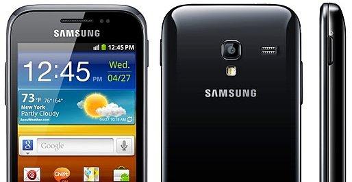 Dette er Samsung Galaxy Ace Plus.