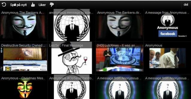 Sonys Pictures nettsted og Facebook-konto ble i natt overtatt av Anonymous.