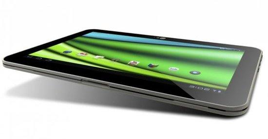 X10-nettbrettet fra Toshiba er verdens tynneste så langt.