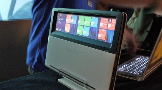 Gjennom kabinettet kan du sjekke e-post, avtaler og Facebook-oppdateringer - uten å åpne PC-en. Smart?