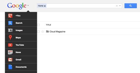 Den nye verktøyboksen forsvinner. Inn i varmen igjen er den gamle måten å navigere Googles tjenester.