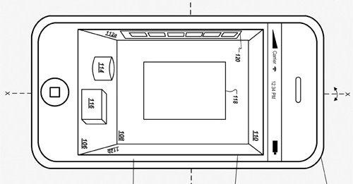 Slik ser Apple for seg en 3D-basert løsning for iPhone og andre mobile enheter.