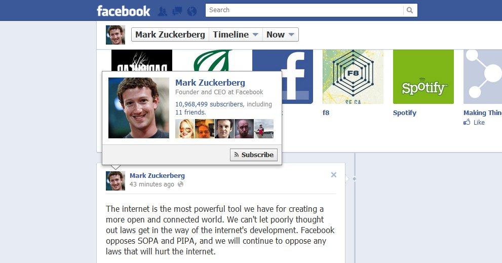 Mark Zuckerberg og selskapet hans, Facebook, er helt klare på at SOPA og PIPA ikke er lover de ønsker. Nå mener flere amerikanske politikere det samme etter dagens protest-blackouts.