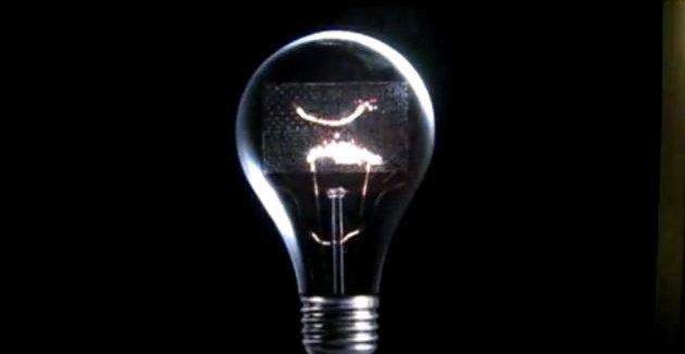 Med denne lyspæren prøver Hollywood-selskapene å vise at oppfinnsomheten i USA er truet av pirater, og at man derfor trenger SOPA.