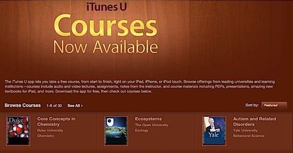Apple ruster opp sin satsing på utdanning.