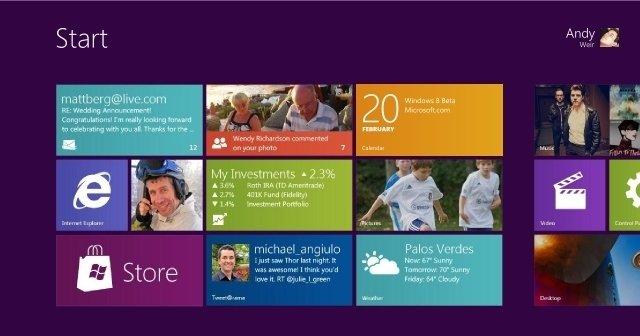 Ny test-versjon neste måned og trolig endelig versjon i oktober i år. Det er statusen for Windows 8.