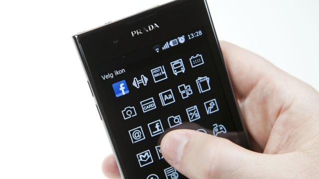 Noen av applikasjonene har egne sort/hvite ikoner.