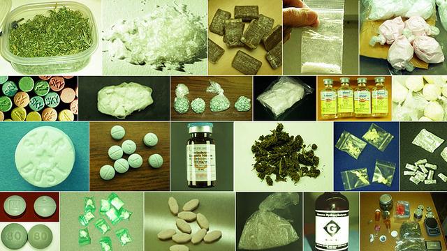 Slik presenteres «varene» i nettbutikken Silk Raod, som selger narkotika og våpen bak krypterte murer.