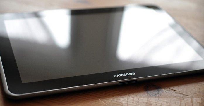 Et annen Galaxy Note-nettbrett.
