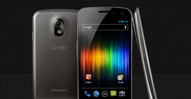 Galaxy Nexus var den første mobilen med Ice Cream Sandwich.