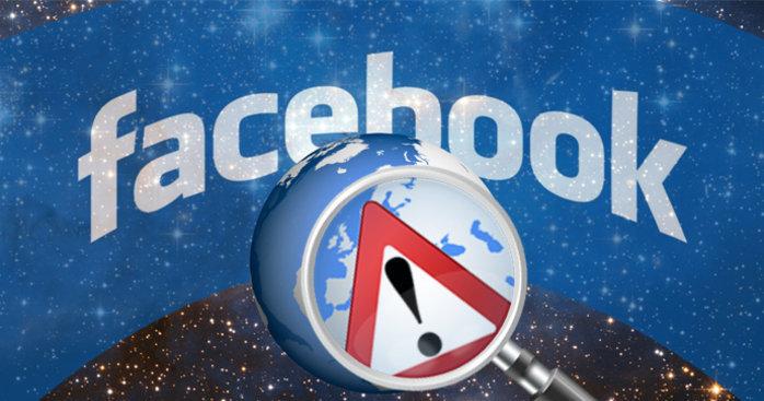 Feilen ble heldigvis rettet kjapt når Facebook ble kjent med det.