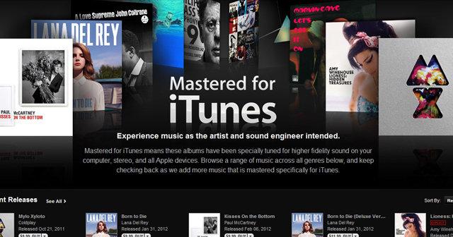 «Mastered for iTunes» skal angivelig gi bedre lyd enn standard vare i Apples musikkbutikk.