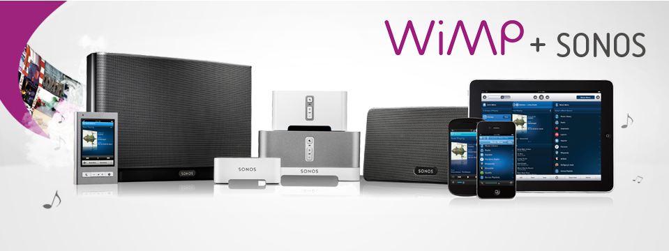 Nå har du valget mellom Spotify eller WiMP på Sonos. Ja takk, begge deler?