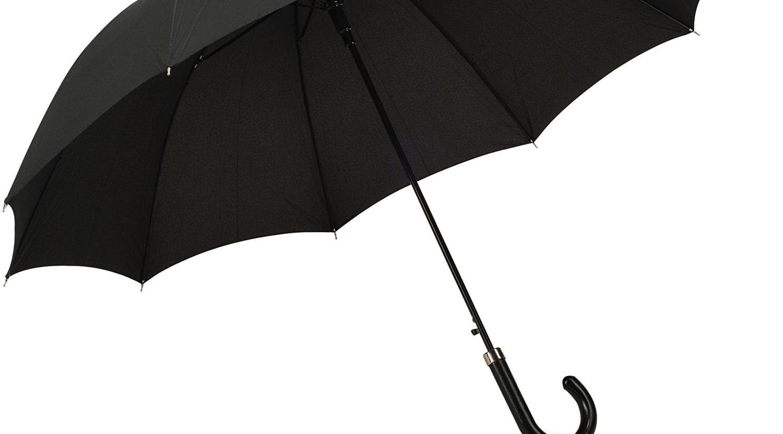 Snart trenger du ikke lenger sjekke været. Paraplyen forteller deg at den trengs...