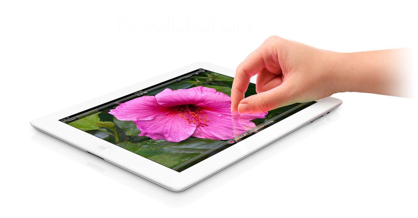 Snart blir det mulig å ta fullt utbytte av nye iPads høyoppløste skjerm.