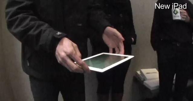 Hva skjer med en ny iPad når den går i gulvet? Akkurat det samme som med iPad 2...