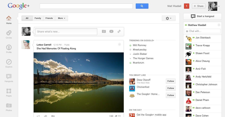 Google+ er dramatisk endret.