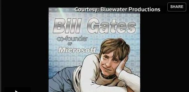 Bill Gates får nå sin egen tegneserie, i kjølvannet av Mark Zuckerberg og Steve Jobs.