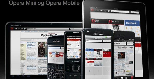 Opera Mini har mange brukere i Afrika og Sør-Amerika, der mobil ofte er bese alternativ for nettbruk.
