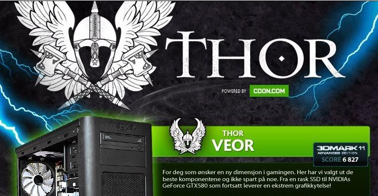 Thor er et nytt tilbud til PC-selvbyggere fra nettbutikken Cdon. Utvalget av PC-spill gjør at dette nå igjen er et voksende marked.