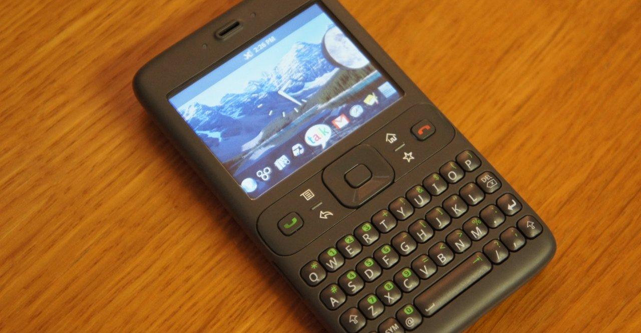 Slik så Android ut tidlig i 2007.