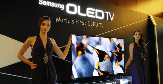 OLED-TV kommer, men ikke før sent i 2013.