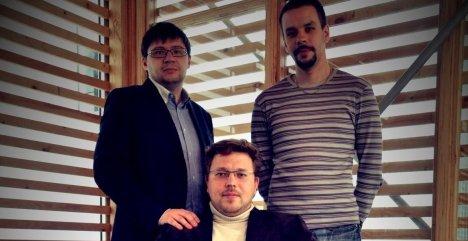 Dmitry Shuvaev, Andrei Klimenko og Alexei Klimenko mener de har funnet løsningen på piratproblemet.