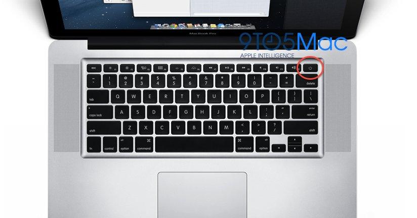 Mockup av den nye ryktede MacBook Pro-maskinen.