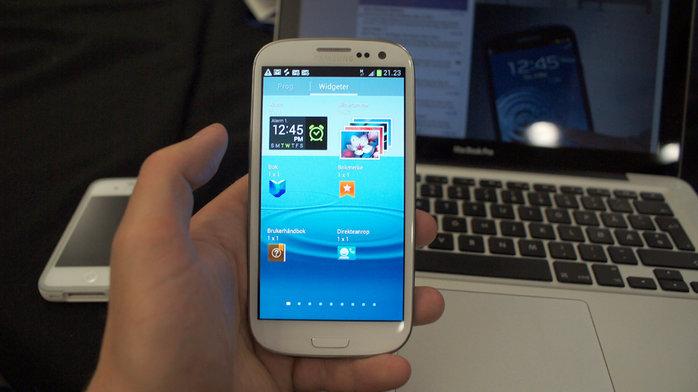 Interessen for Samsungs nye toppmodell er utvilsomt stor.