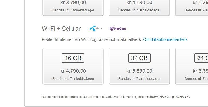Fra 4G til Cellular.