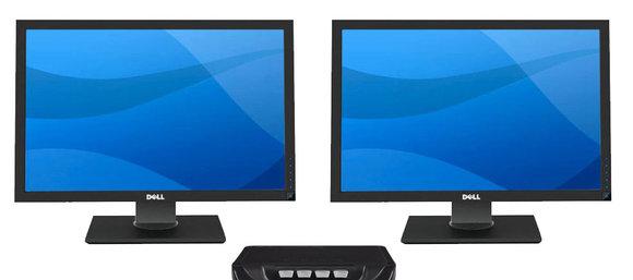 Slike skjermer kan også brukes til å se TV. Det har den franske kulturministeren skjønt.