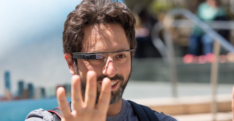 Google-sjefen Sergey Brin og brillene.
