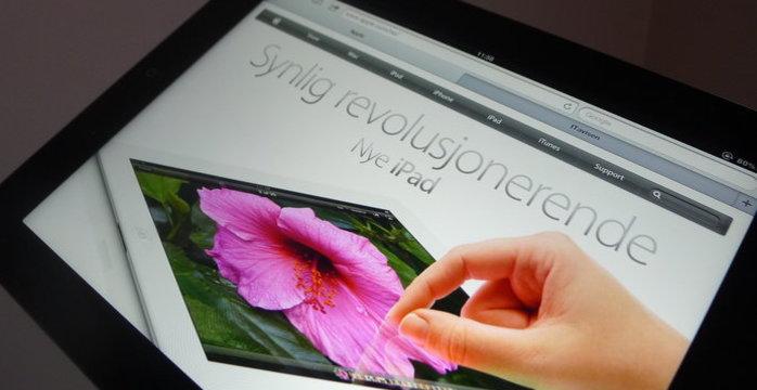 Endelig kan du åpne opp nye iPad for installasjon av en rekke programmer og «tweaks».