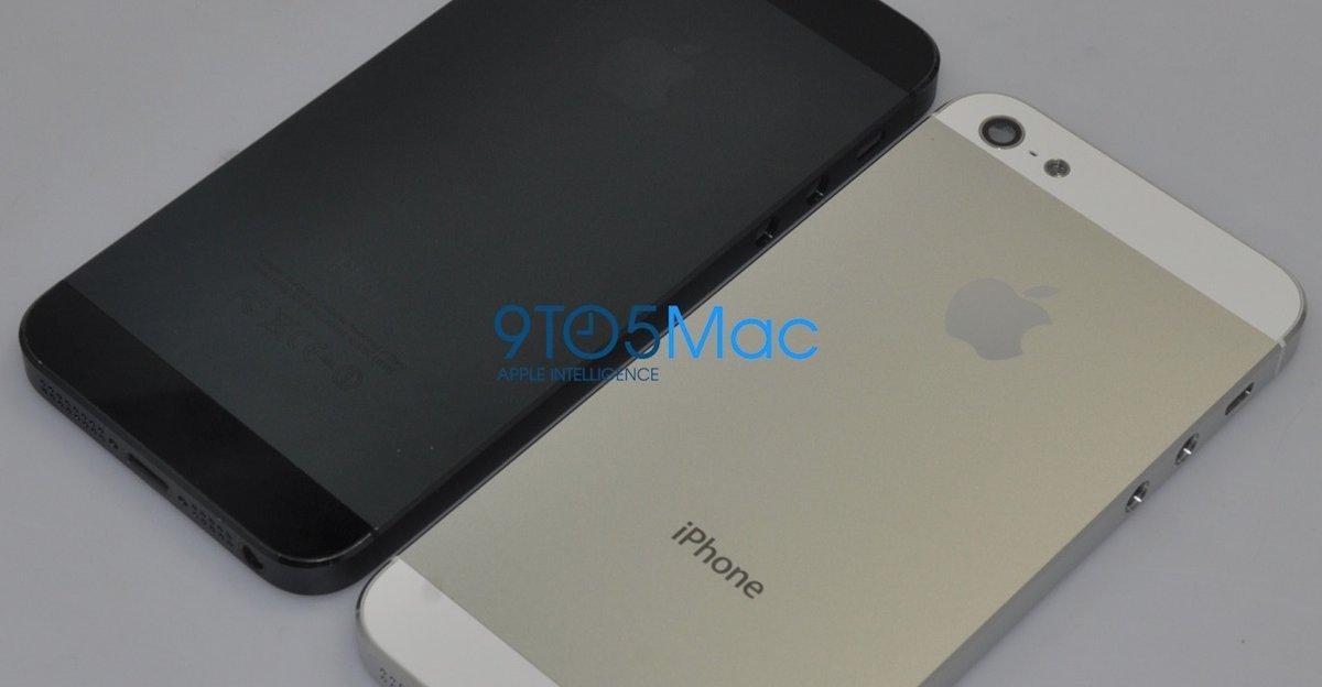 iPhone 5-prototypen som dukket opp for noen måneder siden.