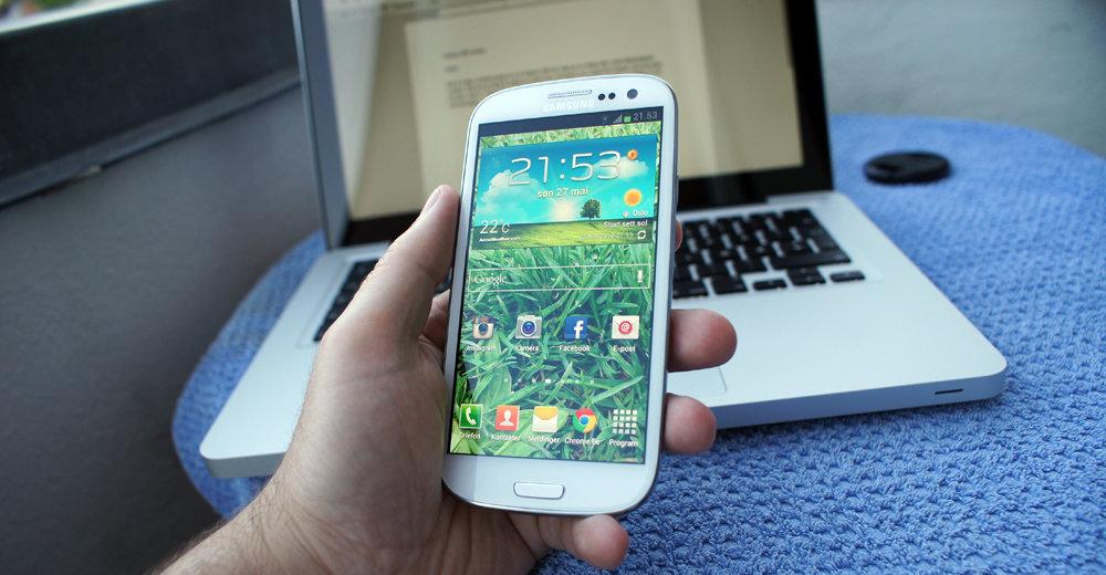 Nå er Galaxy SIII og 20 andre Samsung-produkter med på Apples forbudsliste.