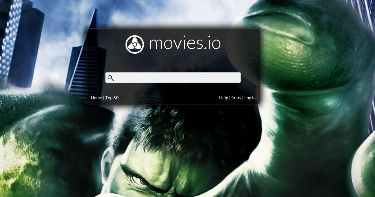 Movies.io serverer pirat-film på en svært lekker måte.