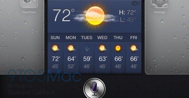 Kanskje blir Siri seende slik ut i iOS 6 som skal avdukes 11. juni.