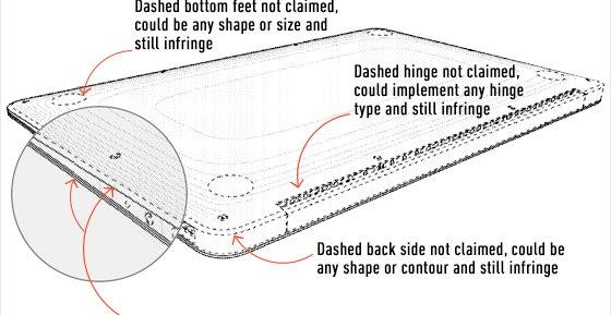 Apples nye MacBook Air-patent dekker langt mer enn den første som kun gjaldt undersiden.